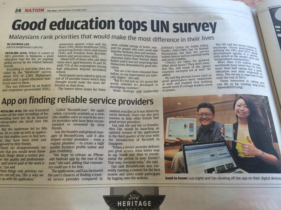 We're in The Star newspaper!