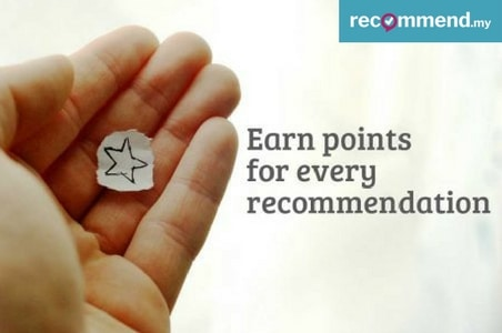 Earn points on every recommendation you make