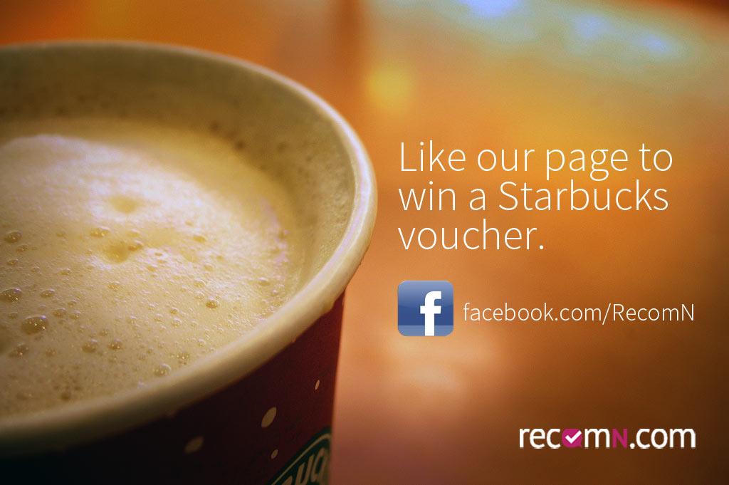 Like us on Facebook and get a tasty beverage