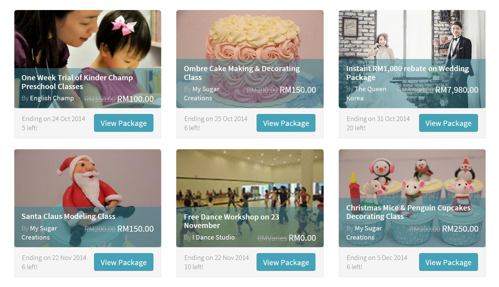 Thanks to our service providers, you can now get special promotions and freebies