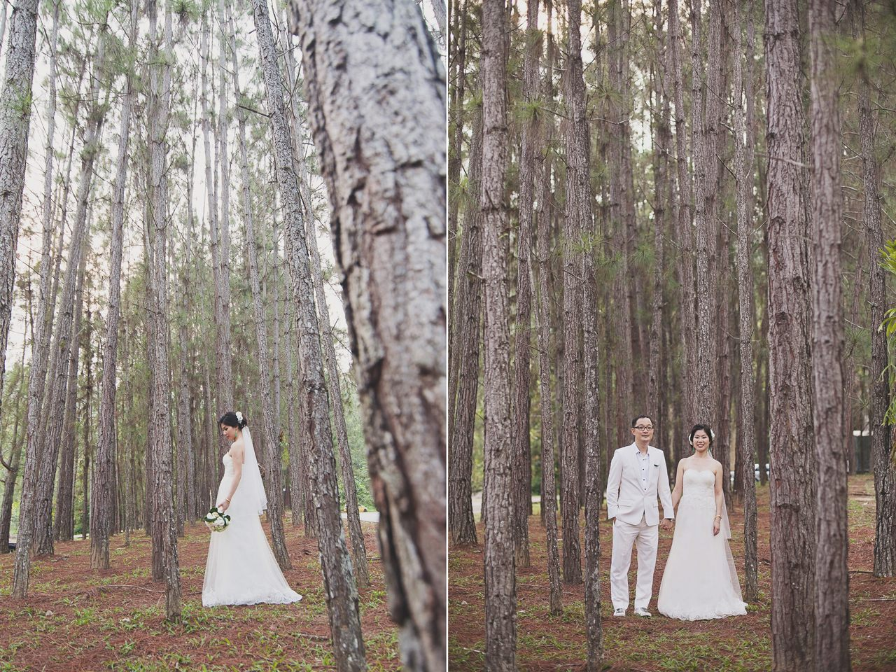 Pre-wedding photoshoot in Tanarimba, Pahang. Photo by Gallerie CK