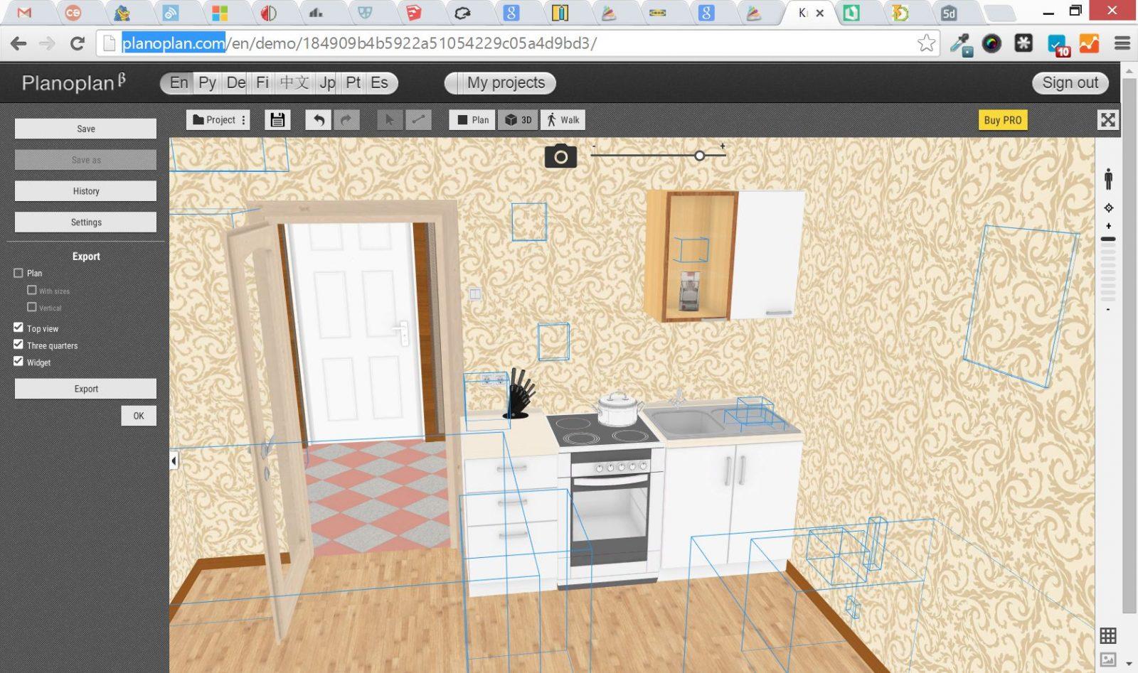 Homebyme teaser 3d home design software online kitchen for Online 3d software