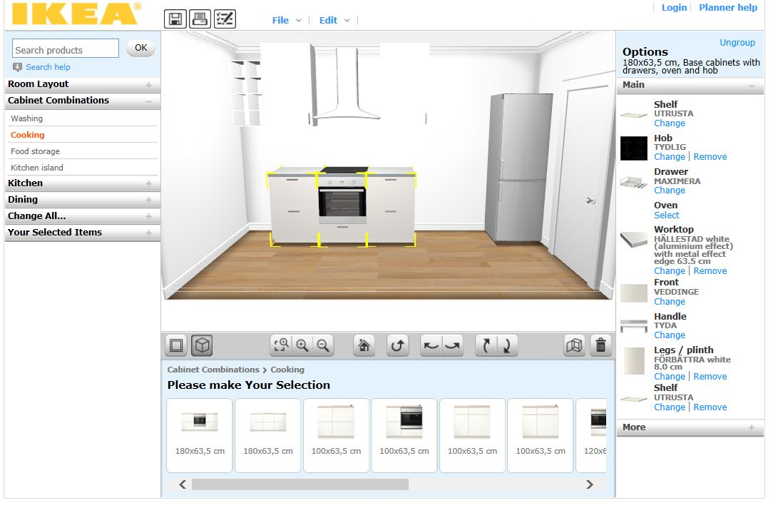 Design your kitchen for free six online 3d tools tested Ikea home planner 2014