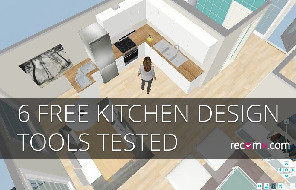 Best Design Your Kitchen For Free Six Online D Tools Tested With Online  Kitchen Designer.
