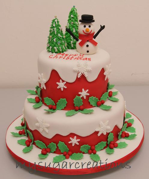 We Hope Your Christmas Cakes Look This Good Recommend LIVING