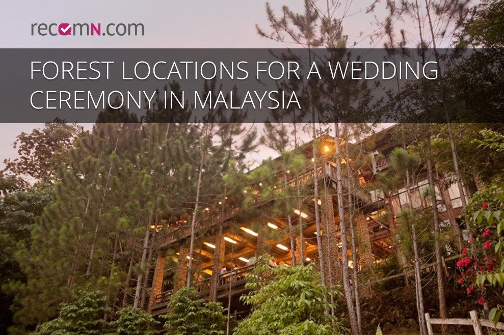 Amazing Rainforest Weddings Make Us Proud To Be Malaysian Living By