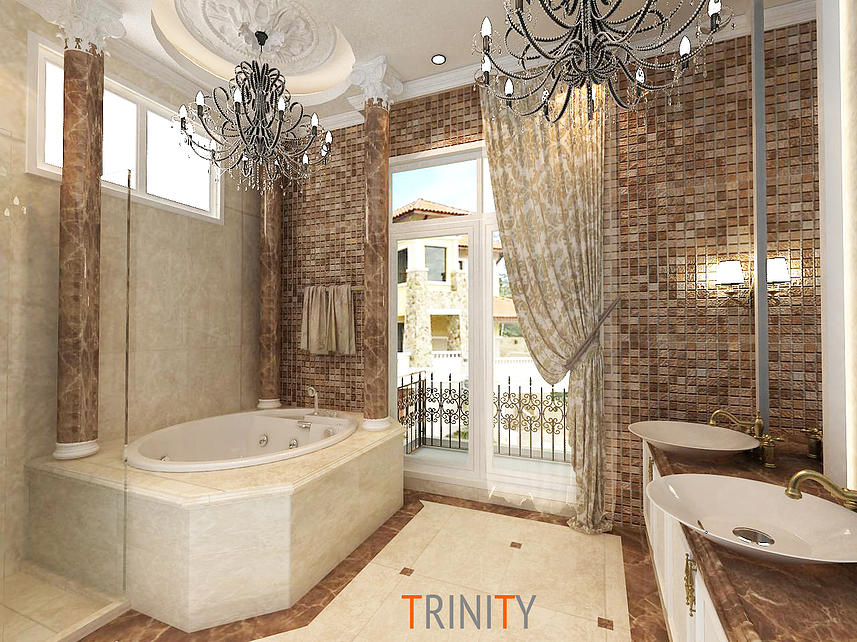 7 Gorgeous Tiled Bathrooms Designs In Malaysia