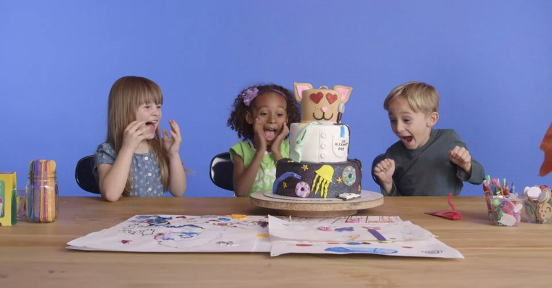 Cake Designs by 5-Year Olds Get Made For Real
