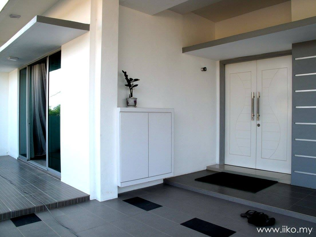 Solid doors and well-sealed sliding glass doors help keep the noise out