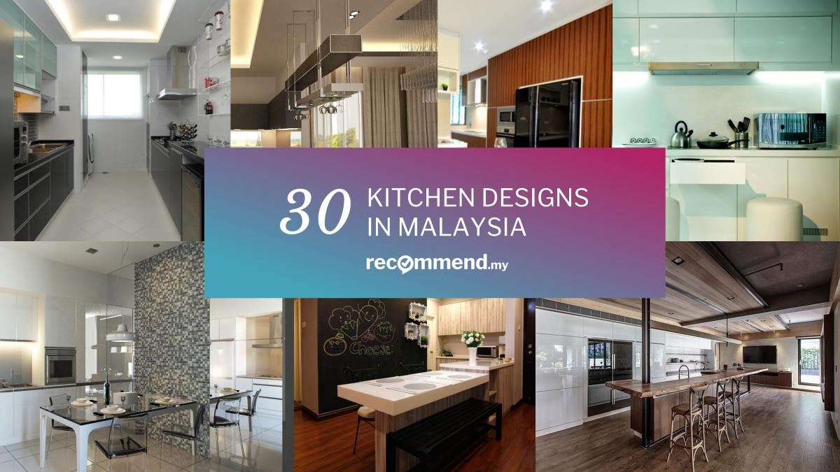 30 kitchens from malaysian interior designers. Black Bedroom Furniture Sets. Home Design Ideas