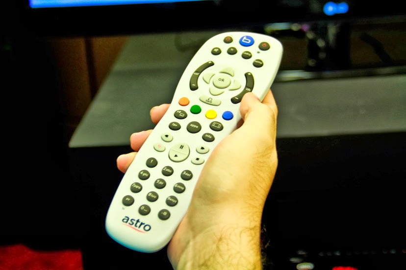 Don't eat your cheezels in one hand and hold Astro remote in the other