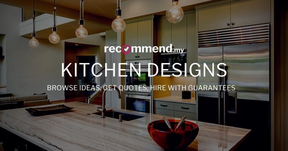 30 kitchens from malaysian interior designers for Kitchen design quotation