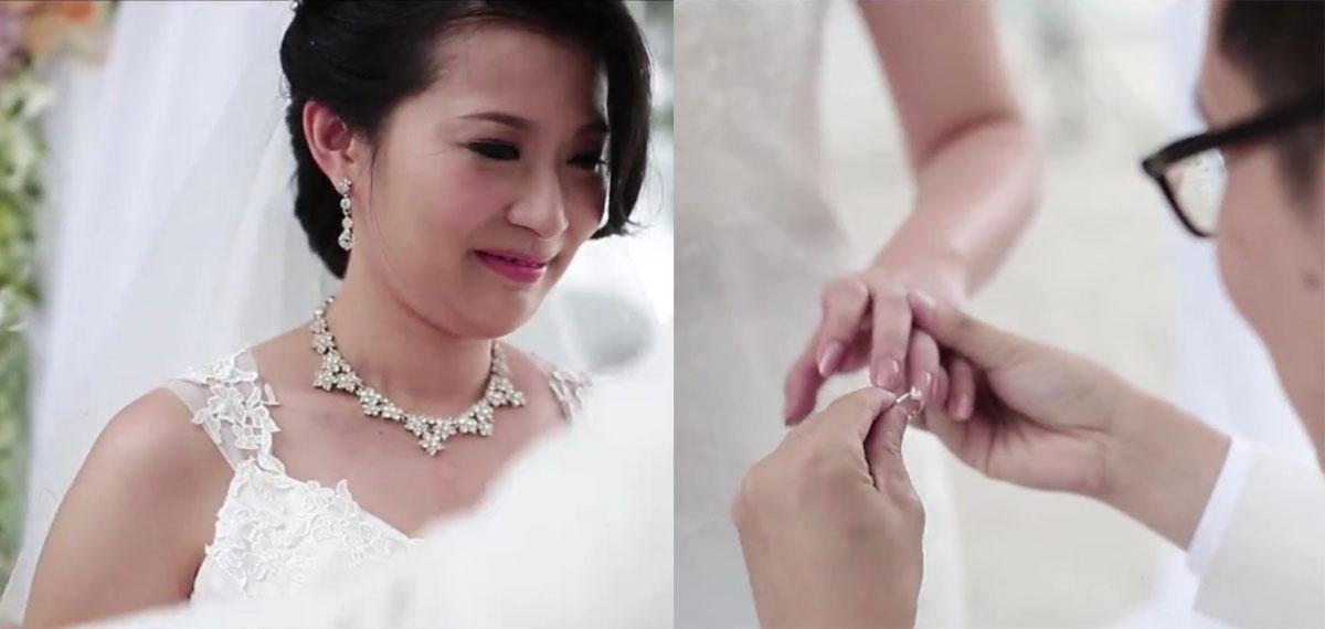 B&W Langkawi Westin Helicam Beach Wedding video - BY Photography