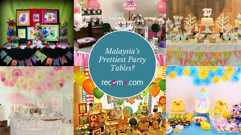 Prettiest Party Tables - RecomN.com party planners Malaysia