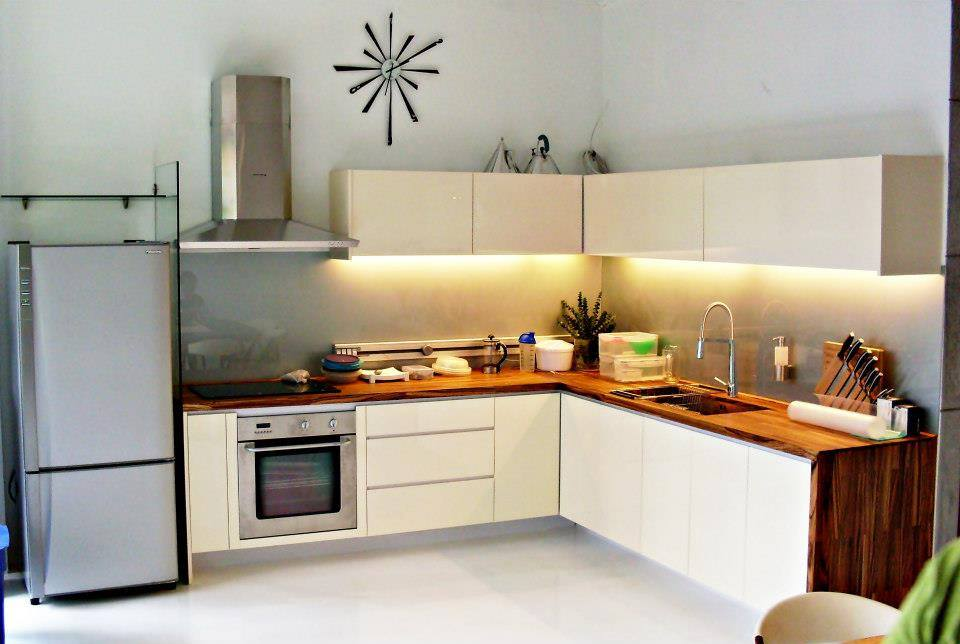 Kitchen done by Four Walls Design