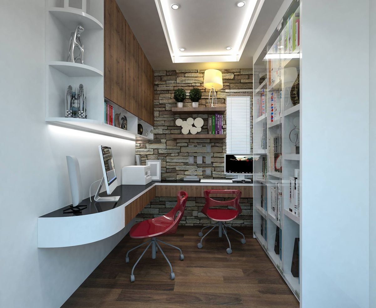 office desing. Home Office Design By Renovation2U, Puchong Desing E