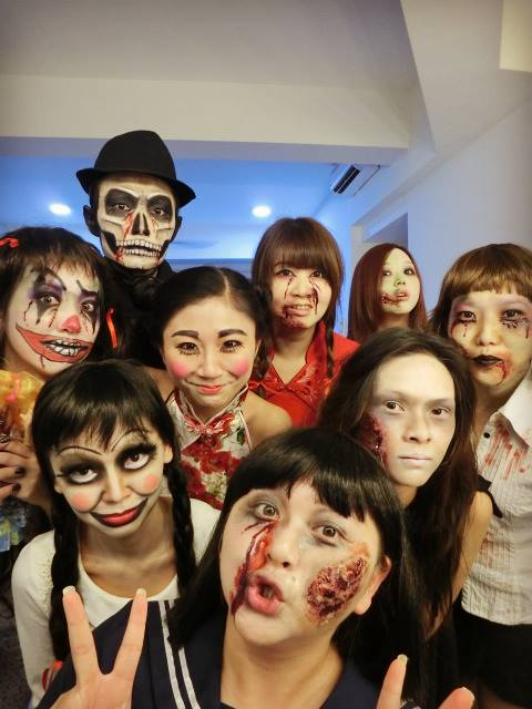 Halloween makeup by Faceart2u makeup artist, Kuala Lumpur