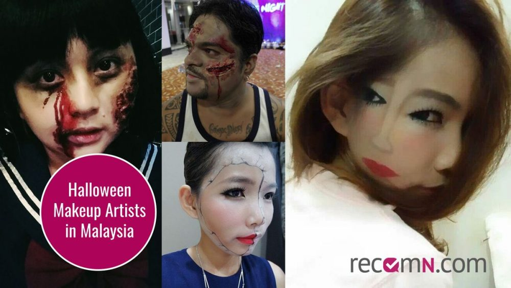 Halloween Makeup Artists in Malaysia - Get recommendations for service professionals at RecomN.com