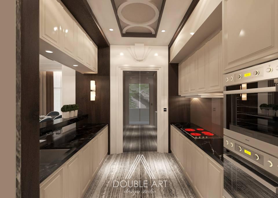 Gallery Kitchen by Double Art Design Studio