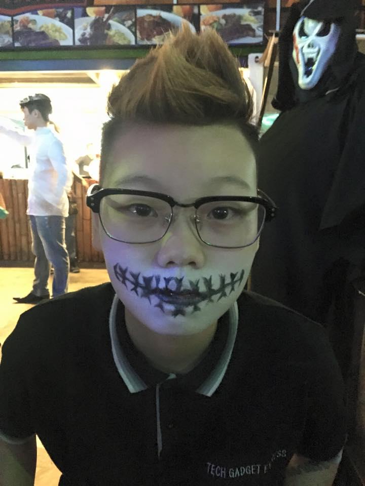 Halloween makeup by Kris - RecomN.com
