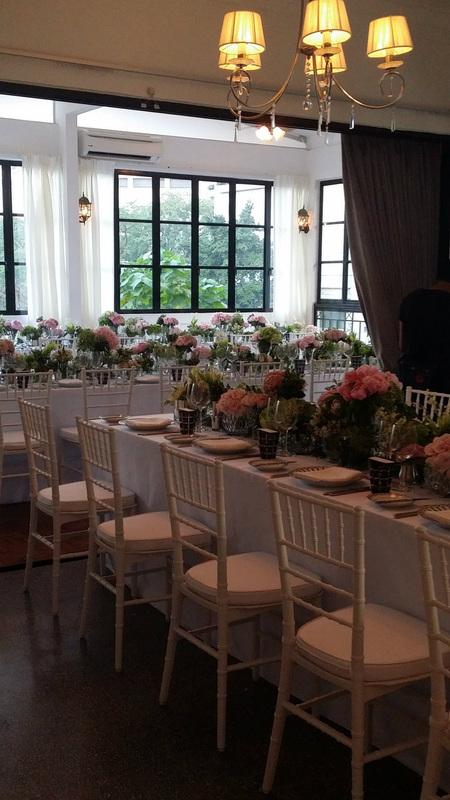 Maison Francais KL wedding venue