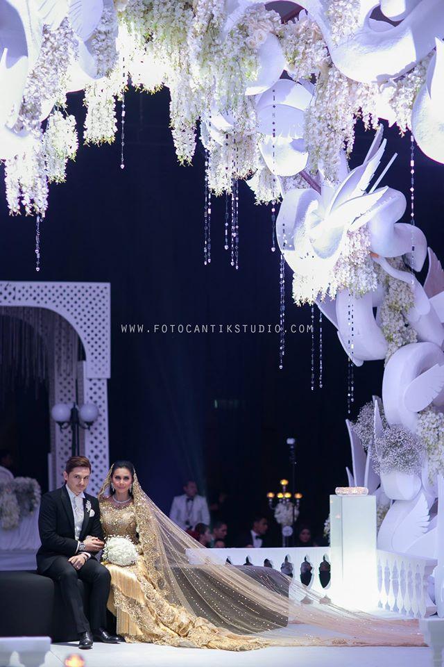 Rozita Che Wan dan Zain Saidin wedding