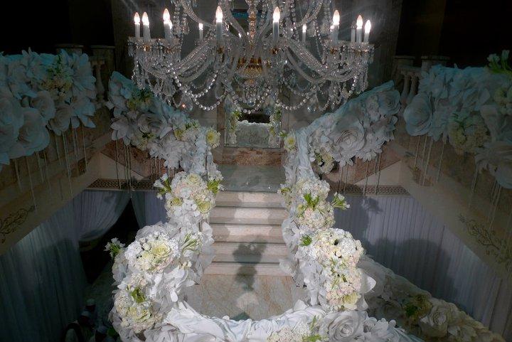 SM Nasaruddin Marion Caunter wedding