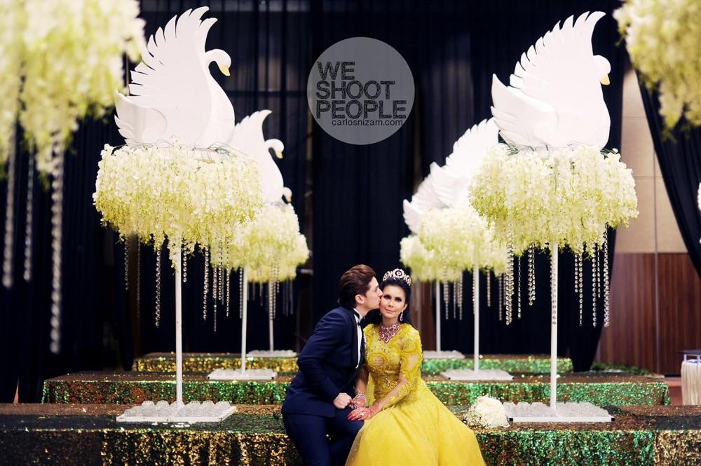 Wedding ceremony Zain Saidin & Rozita Che Wan