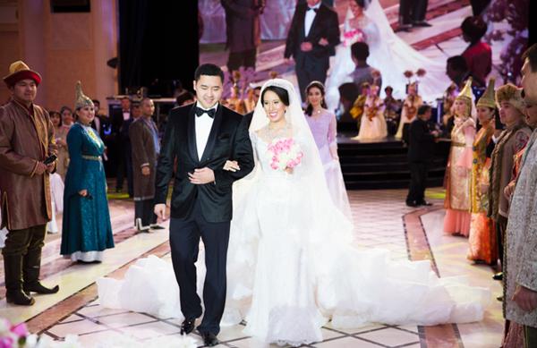 Nooryana Najwa and Daniyar Kessikbayev