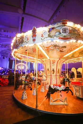 Benjamin Yong Elizabeth Lee Wedding reception carnival