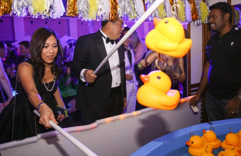 Benjamin Yong Elizabeth Lee Wedding carnival reception