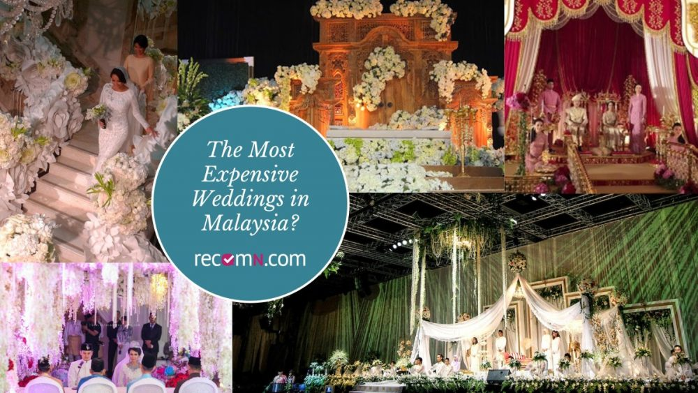 The Most Expensive Weddings in Malaysia