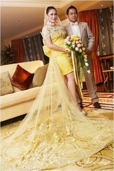 Ezlynn and Adam wedding malaysia