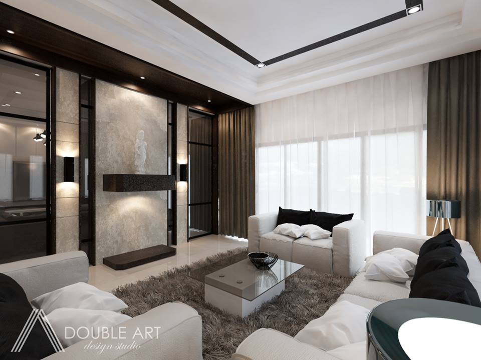 Double Art Design Studio living room designs