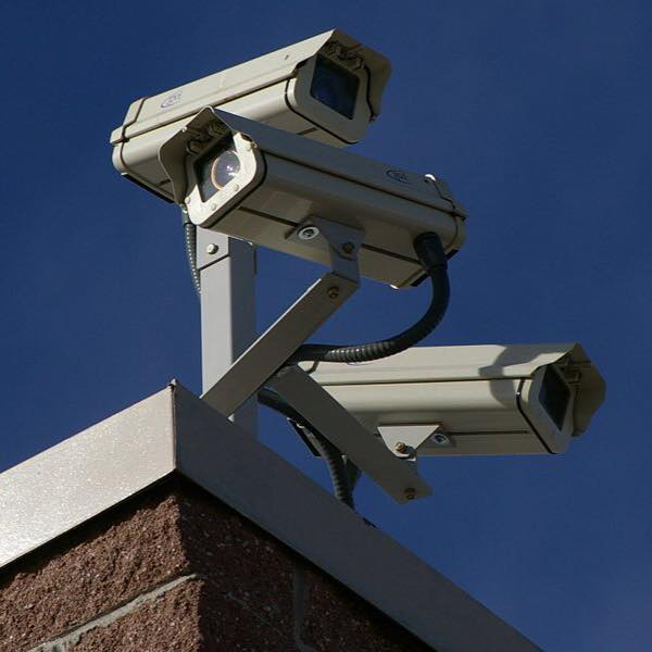 Commercial cameras on a rooftop. You can get a simpler setup for your home.