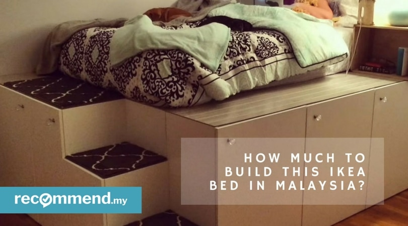 How Much To Build A Platform Bed From Ikea Cabinets