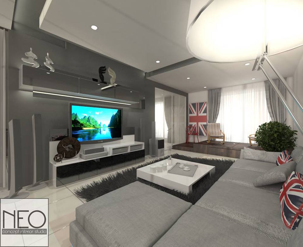 11 living room designs for malaysians to netflix and chill living for Interior design in living room