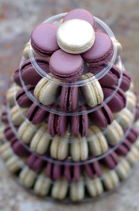 Macaron tower by Elite Catering