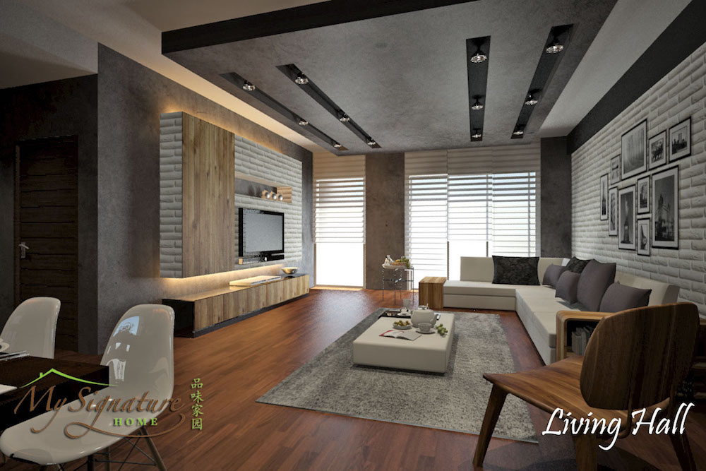 11 living room designs for malaysians to netflix and chill for Modern living room malaysia