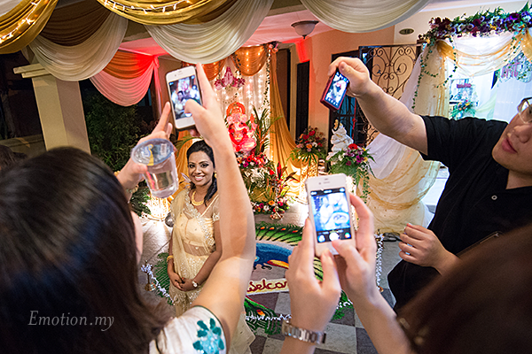 Indian wedding ceremony by Andy Lim Photography