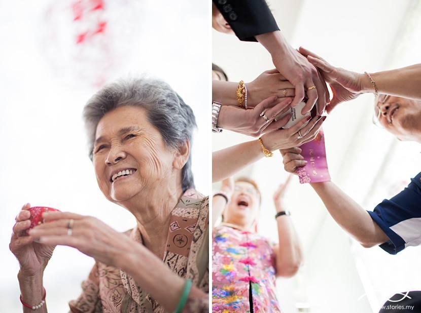 Wedding tea ceremony photo by Stories.my