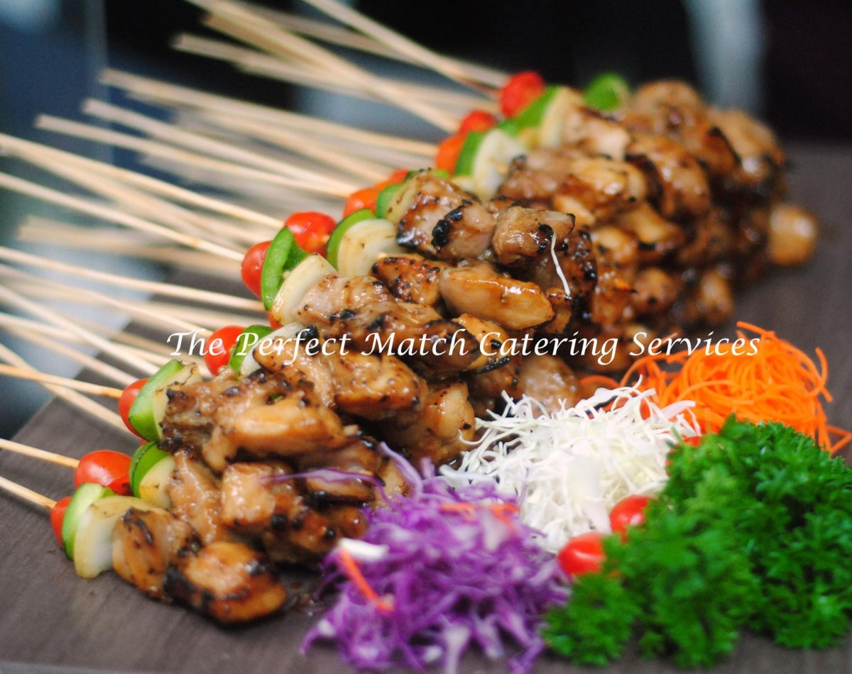 Chicken teriyaki. Catering menu by The Perfect Match.