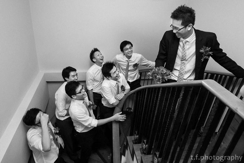 wedding gatecrash photography by Davies Lee