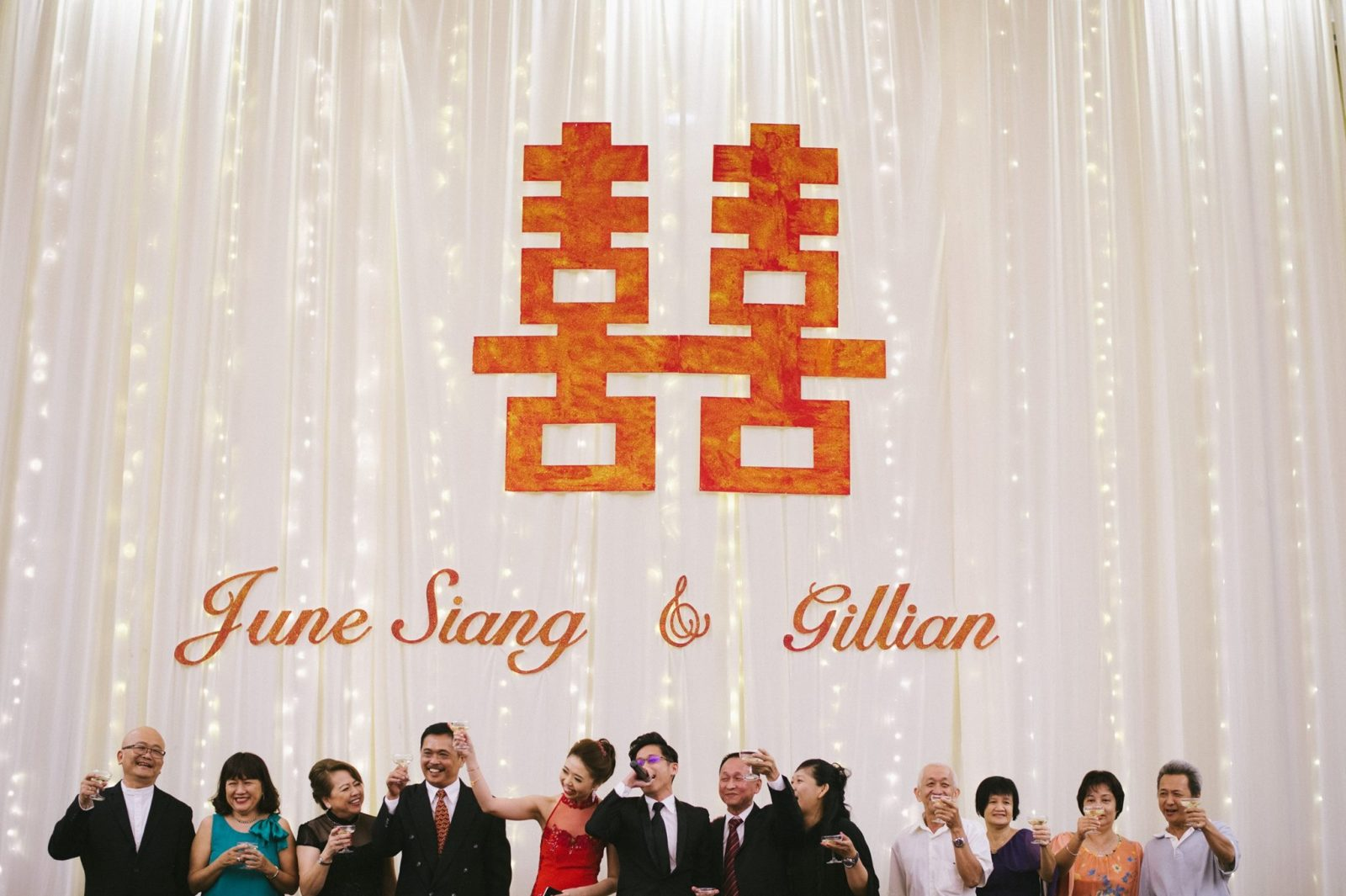 Wedding banquet photography by Irvin Studio