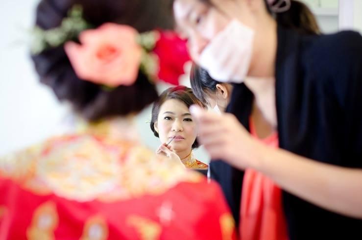 Makeup and hair wedding photo by Yen Makeup