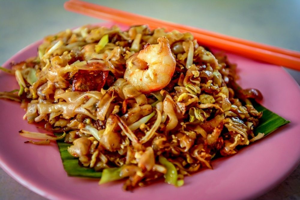 healthy char kway teow?