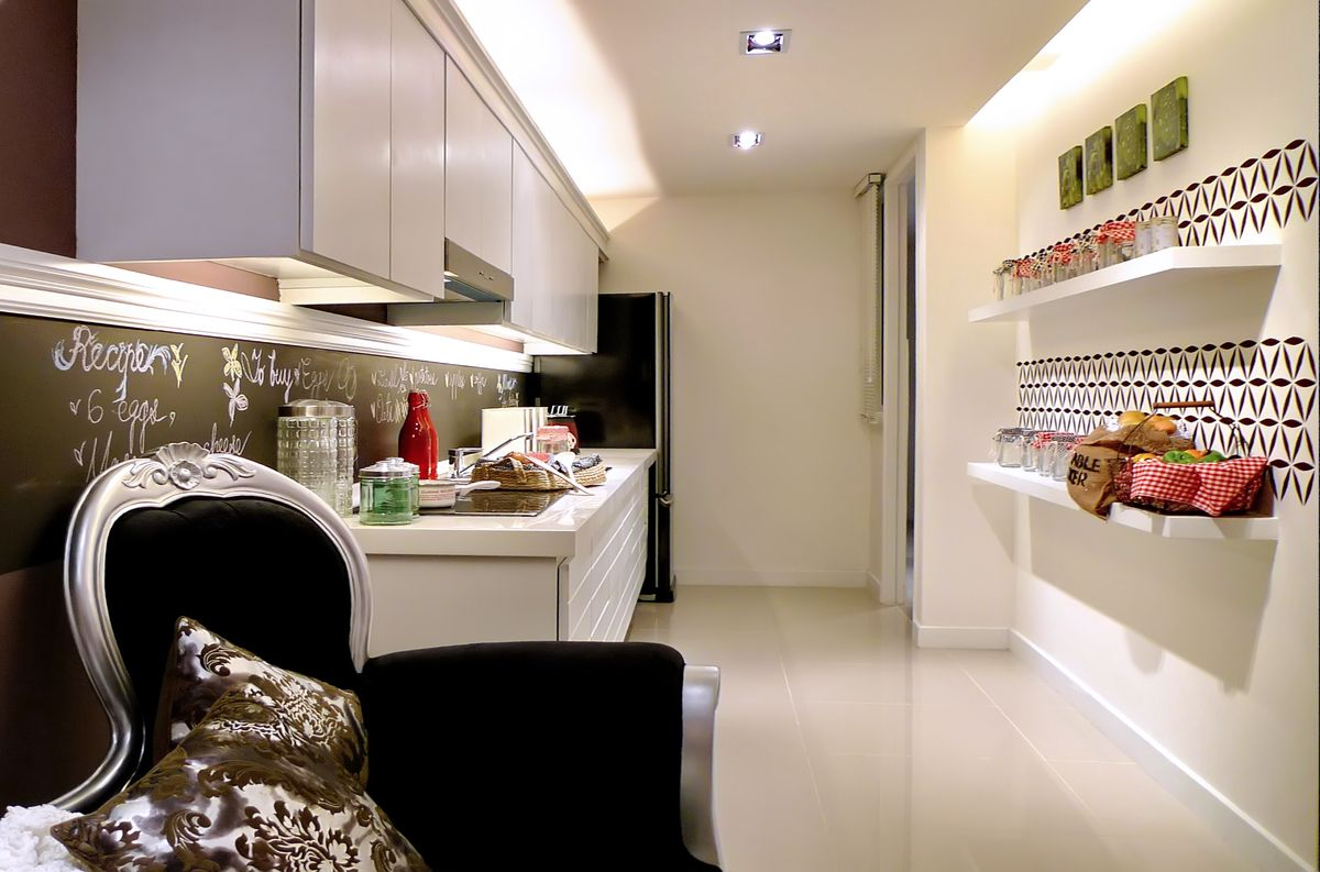 Ambient and task lighting for the kitchen. Design by MIL Design