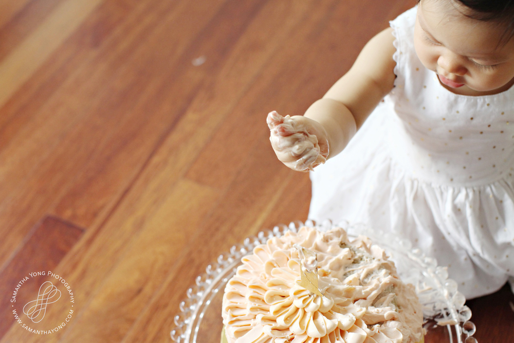 cake smash | Samantha Yong Photography