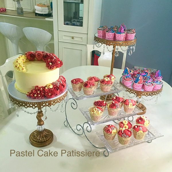 Pastel Cake Patissiere. Source.