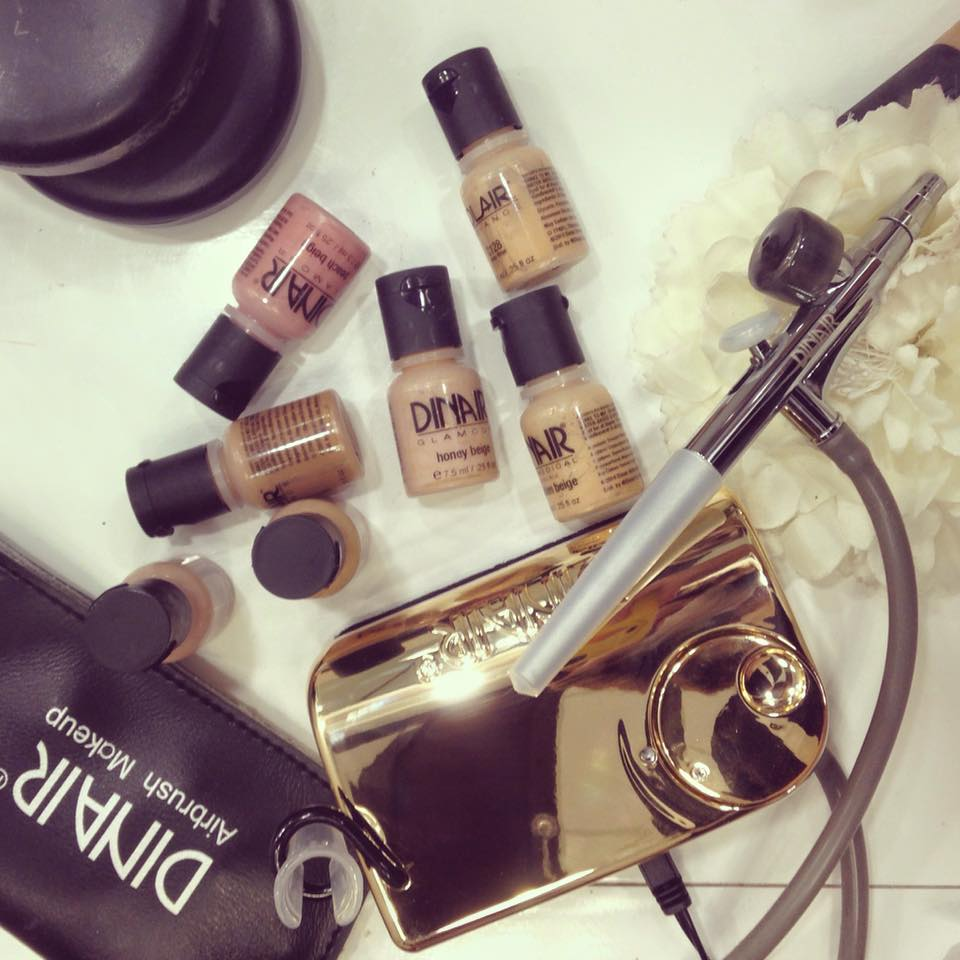 makeup artist malaysia Air brush makeup products by Joie & Make Up. Source.